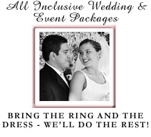 Wedding package logo.